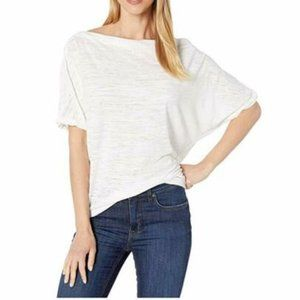 Free People Convertible Neck Astrid Tee, White